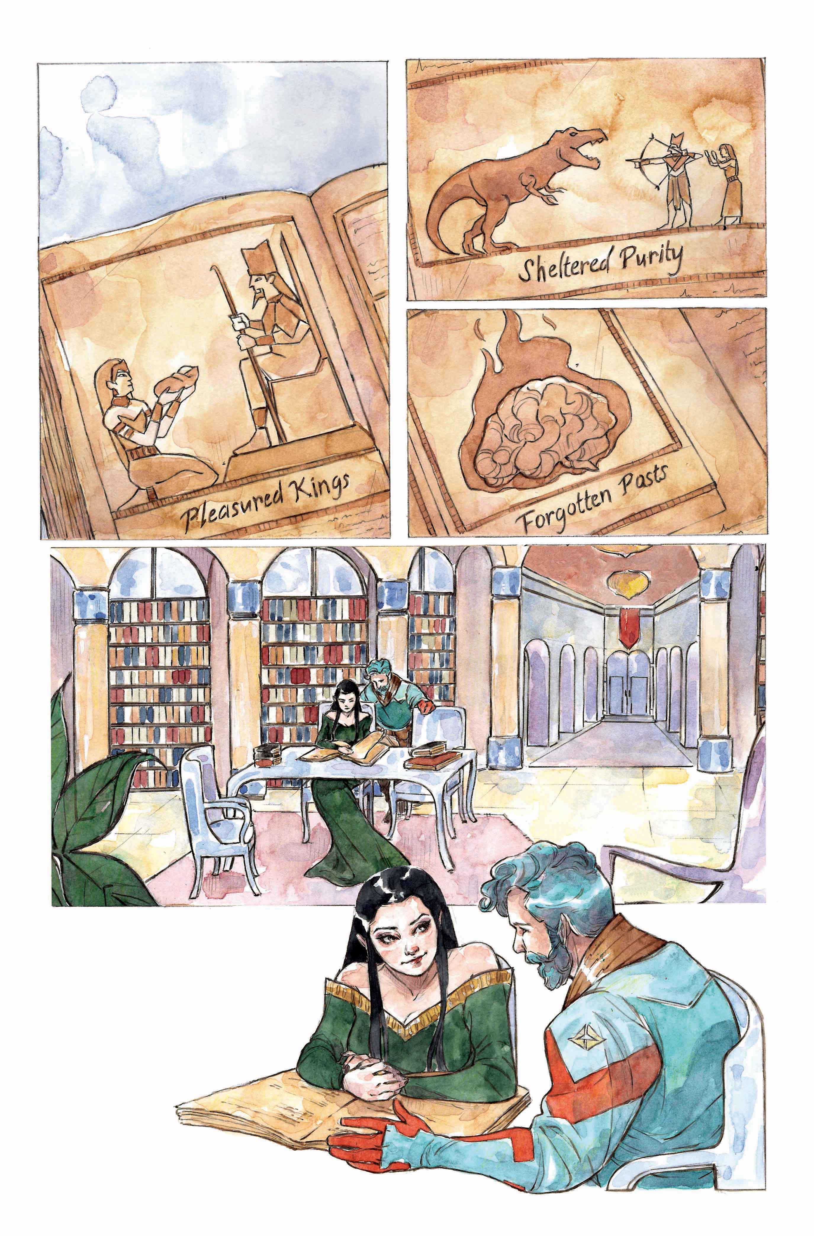 Empress page 1 color 2