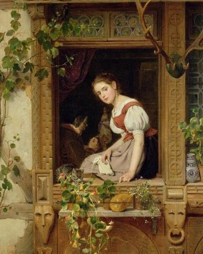 dreaming-on-the-windowsill-august-friedrich-siegert.jpg