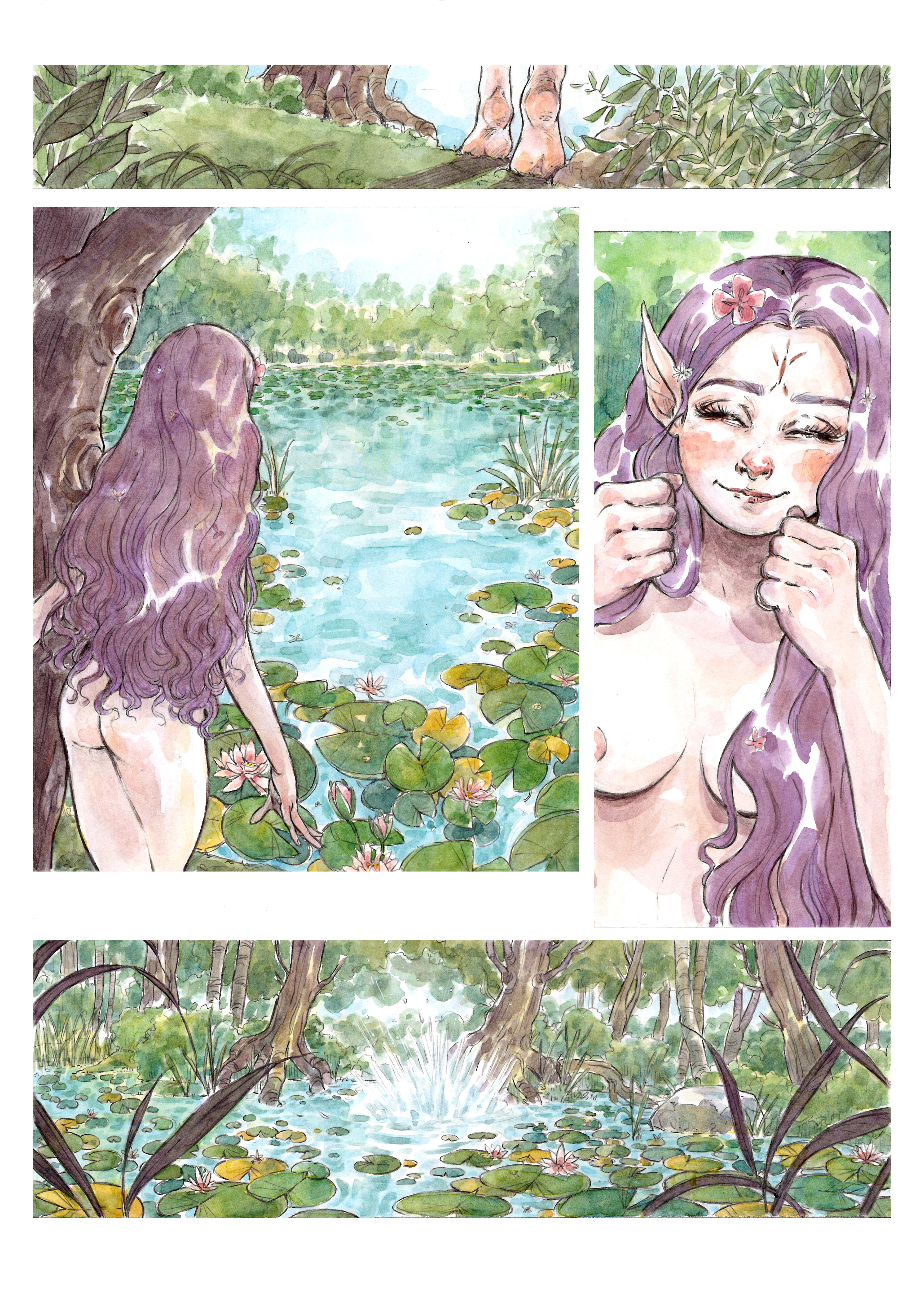 NYMPH OF THE LAKE page 2