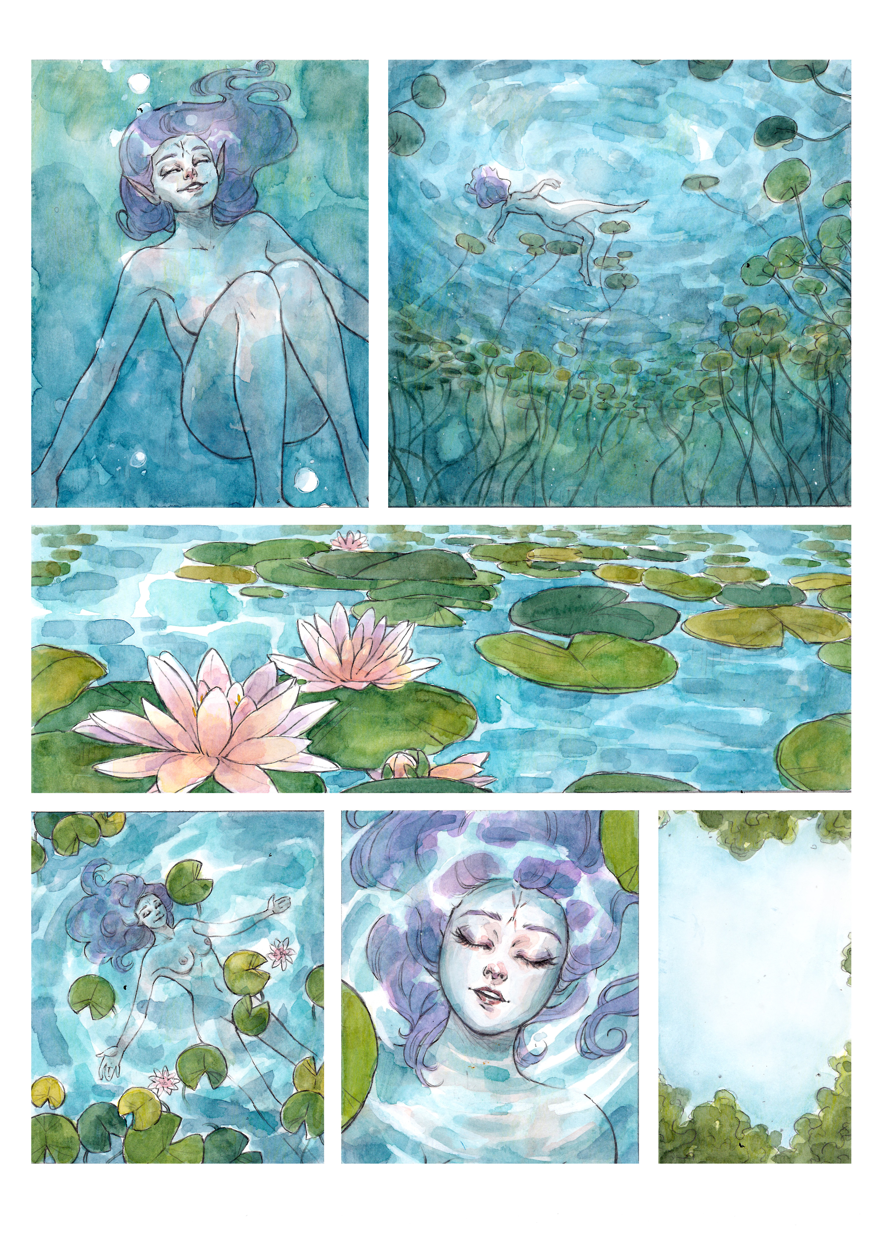 NYMPH OF THE LAKE page 5