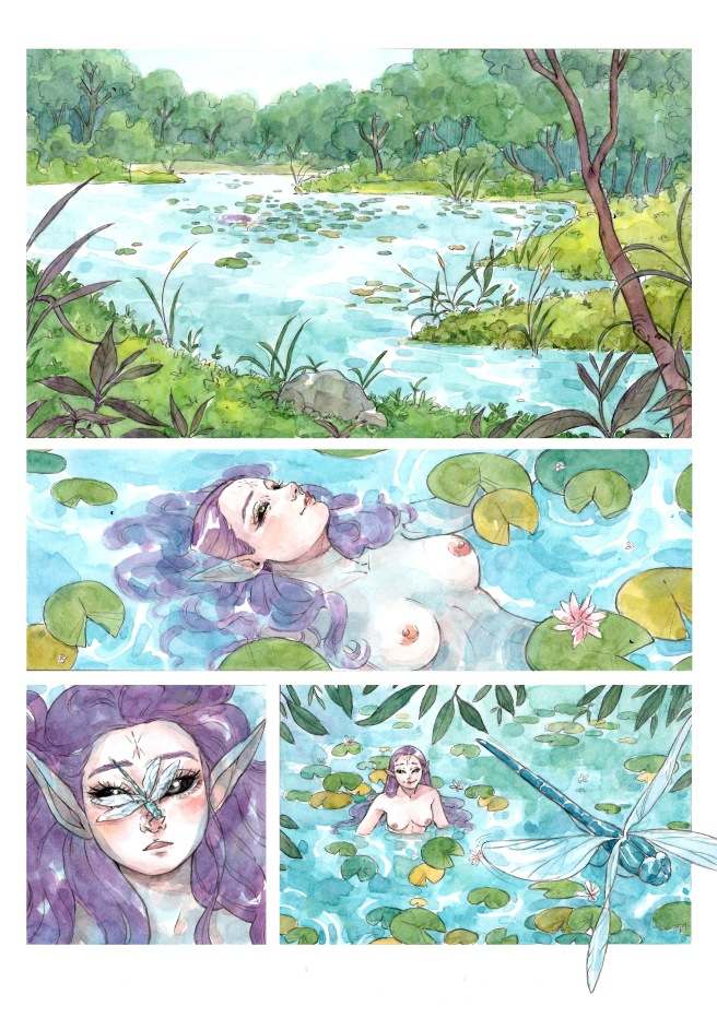 NYMPH OF THE LAKE page 6