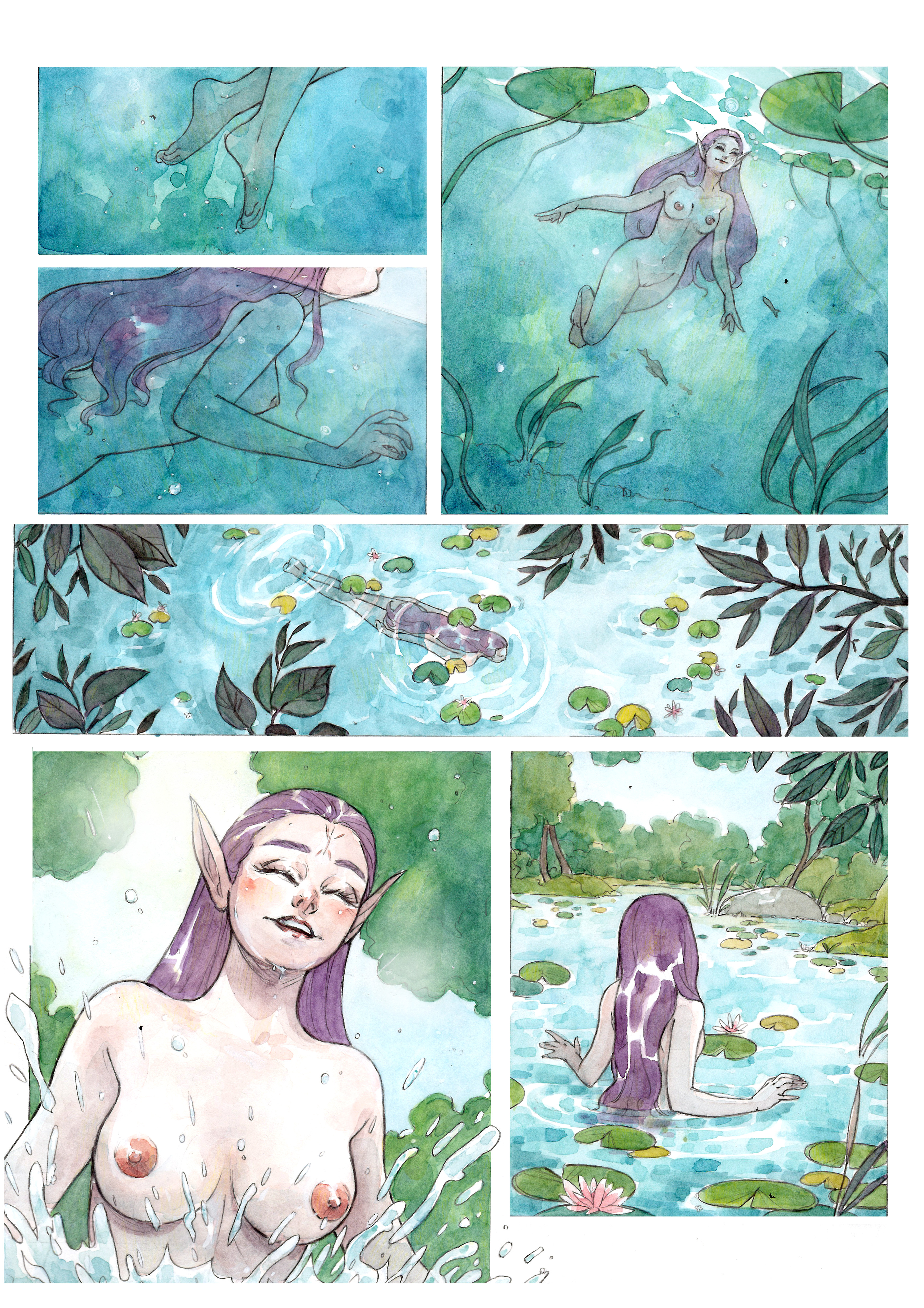 NYMPH OF THE LAKE page 7