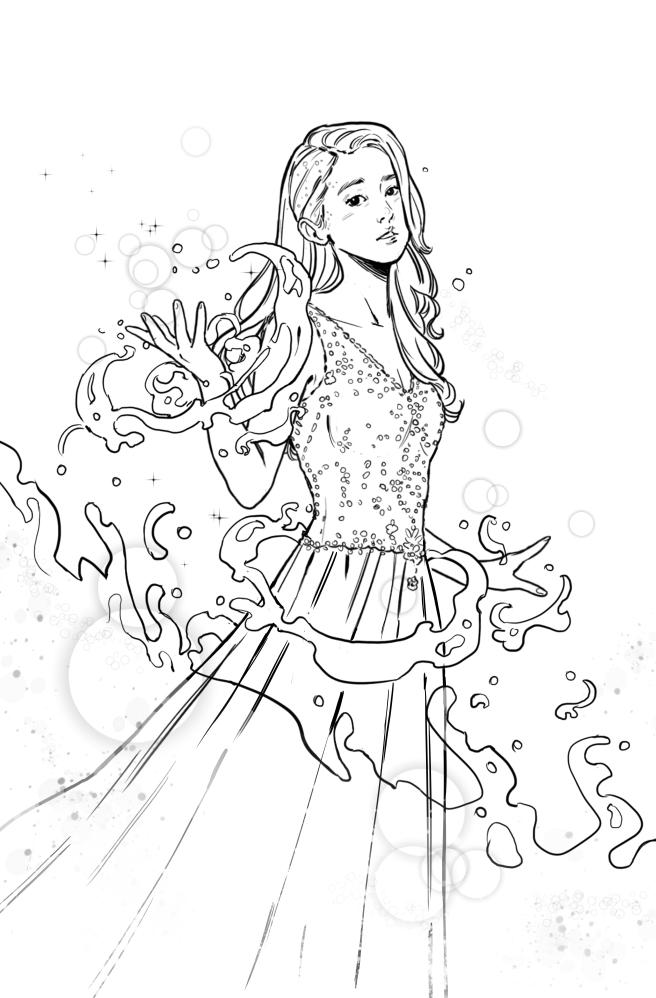 My Poisedon sketch